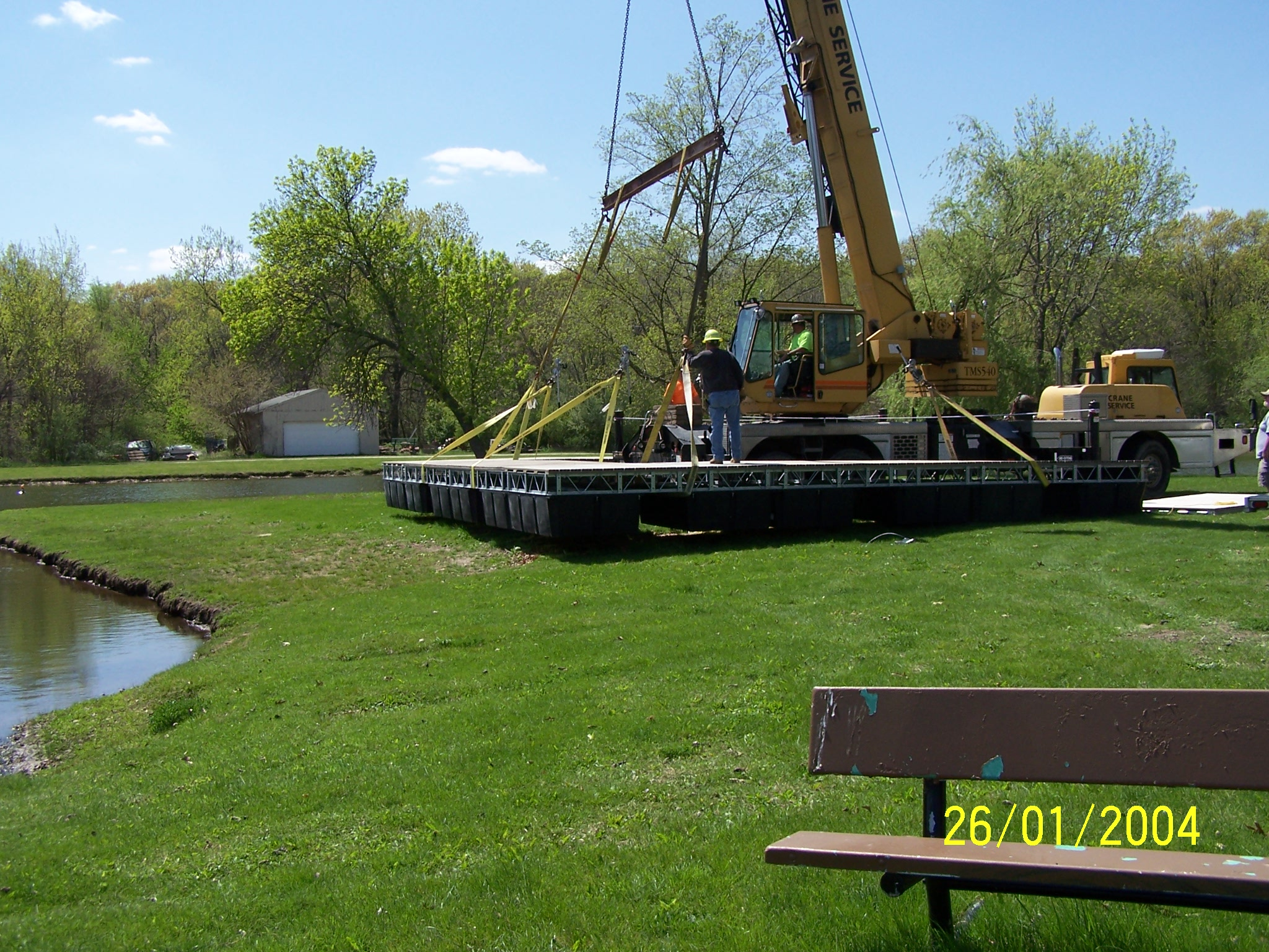 Dock Crane Set3